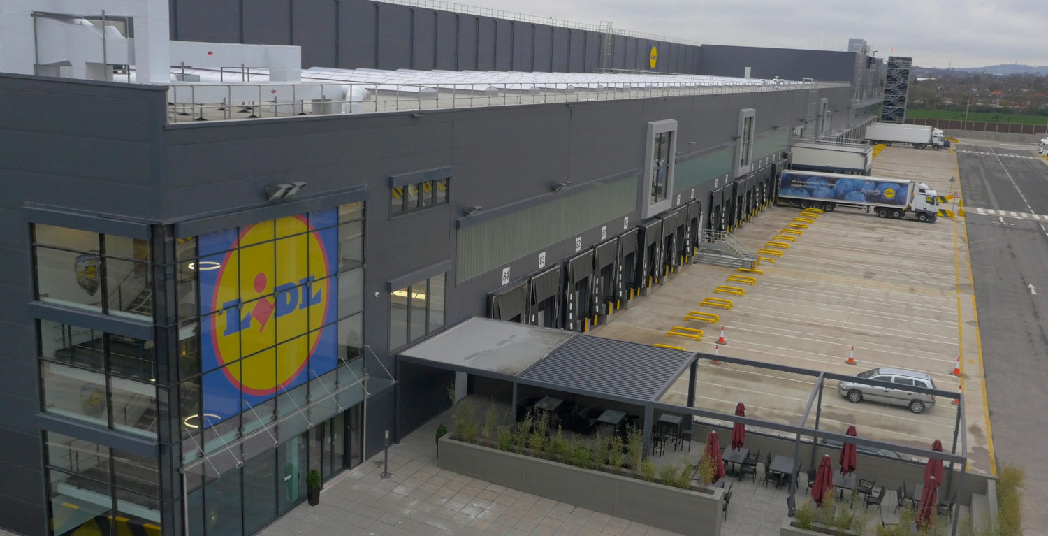 Lidl Distribution Centre – Enfield