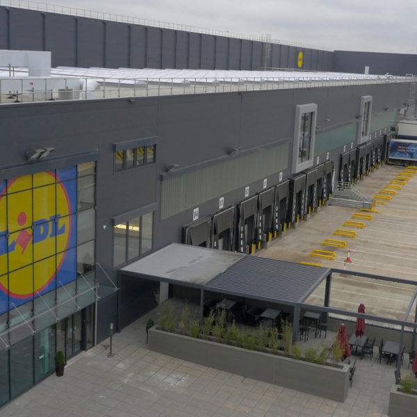 Lidl Distribution Centre – Enfield