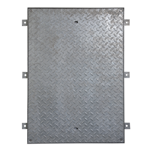 Access Cover, Locking, Galv, Solid Top, 900mm x 600mm (Facta AA)