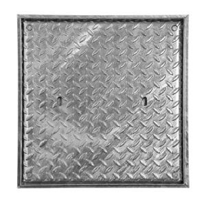 Access Cover, Locking, Galv, Solid Top, 600mm x 600mm (Facta AA)