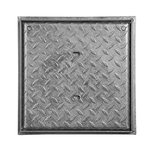 Access Cover, Locking, Galv, Solid Top, 350mm x 350mm (Facta AA)