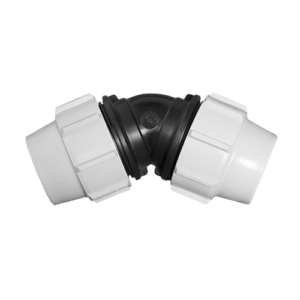 Compression fittings - 45 deg elbow