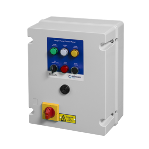 Control Panel Plastic, DOL, (Single Pump) 3 Phase (1-4kW)