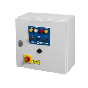 Control Panel Metal, 1 Phase (1-4kW) with 10hr Changeover Timer c/w V/F