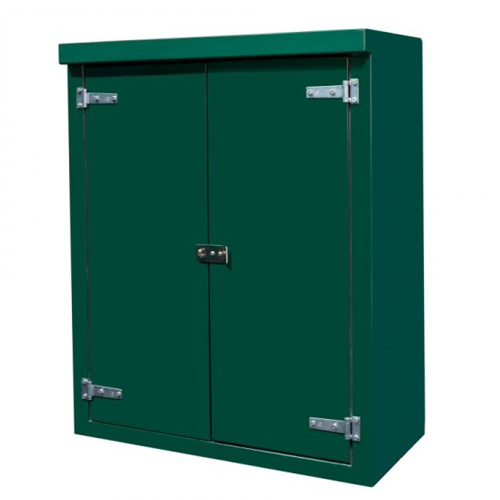 Kiosk - Floor Mounted, Double Door (H: 1250mm x W:1250 x D: 400mm)