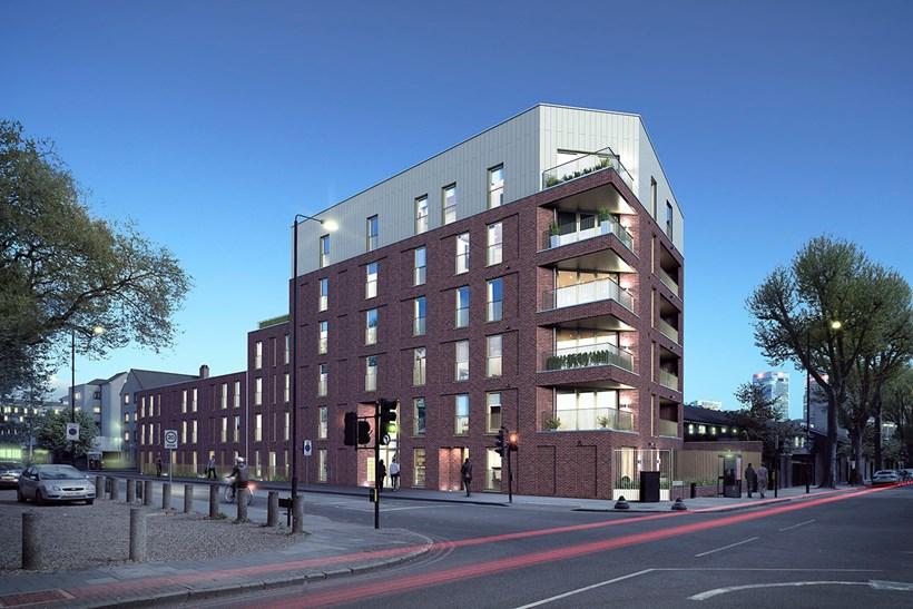 Contemporary Apartment Building